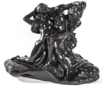 """Auguste Rodin / Galerie Bailly """"Éternel Printemps"""" Bronze, Vers 1910 © Bailly Gallery"""