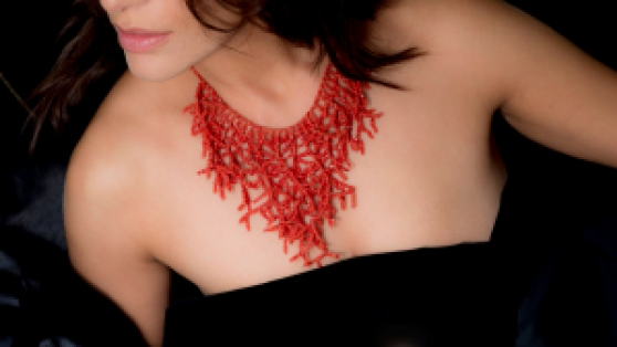 Collier Caterina Murino Jewellery Corail, Or © Alida Vanni